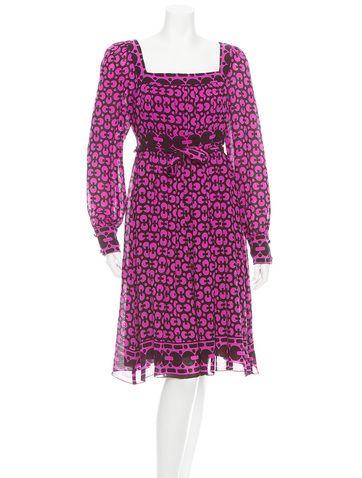 Anna Sui F/W 2005 Printed Dress