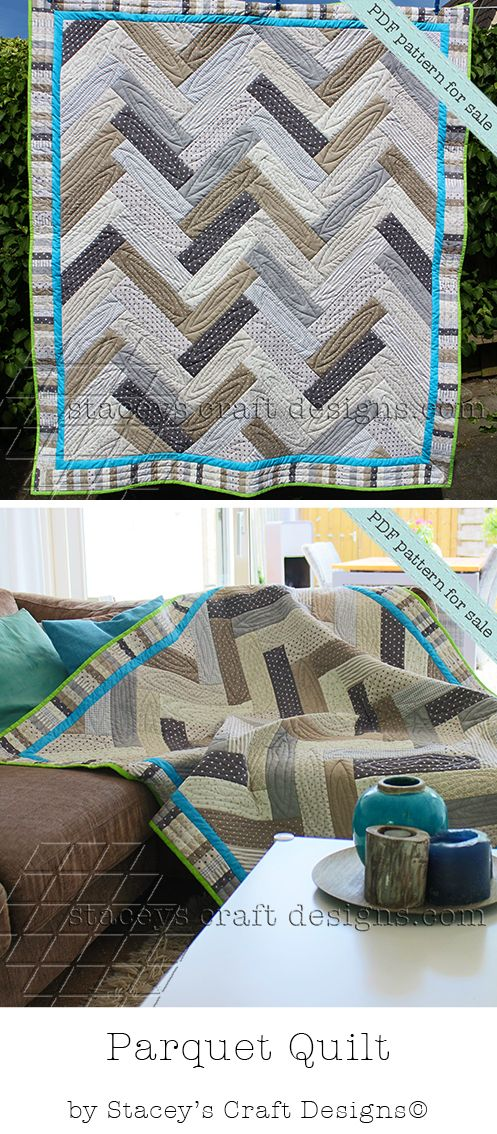 From Wood To A Cozy Parquet Quilt Pdf Pattern By Stacey S Craft