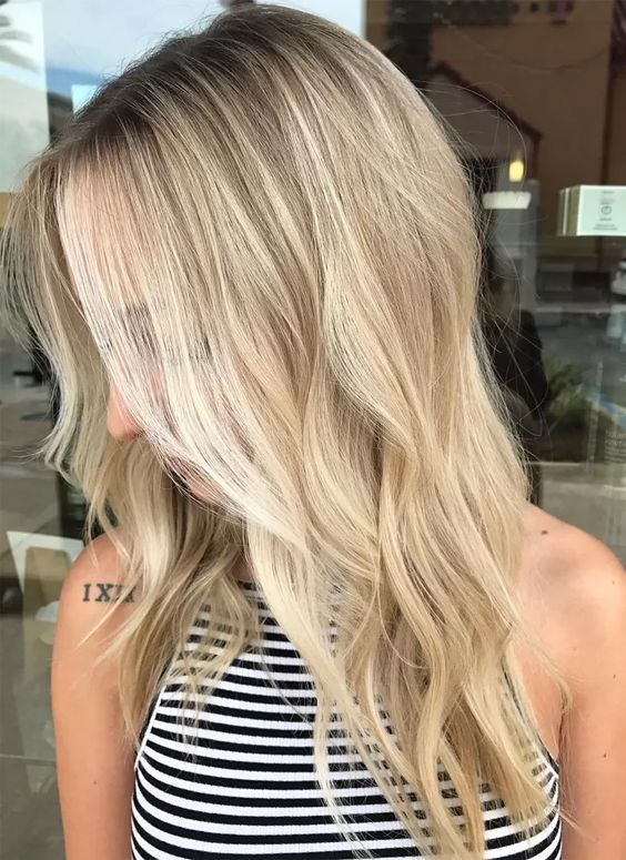 15 Bright Blonde Balayage Hair Color With Highlights And