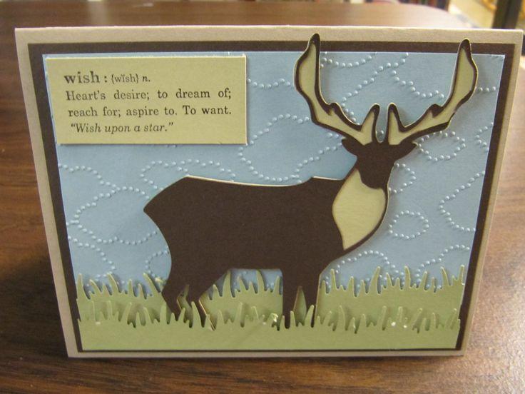 Masculine Birthday Cards Made With Cricut ~ Pin by gail rogers on a cricut wildlife cricut