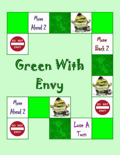 9th and 10th Commandment Game- Green With Envy | Religon
