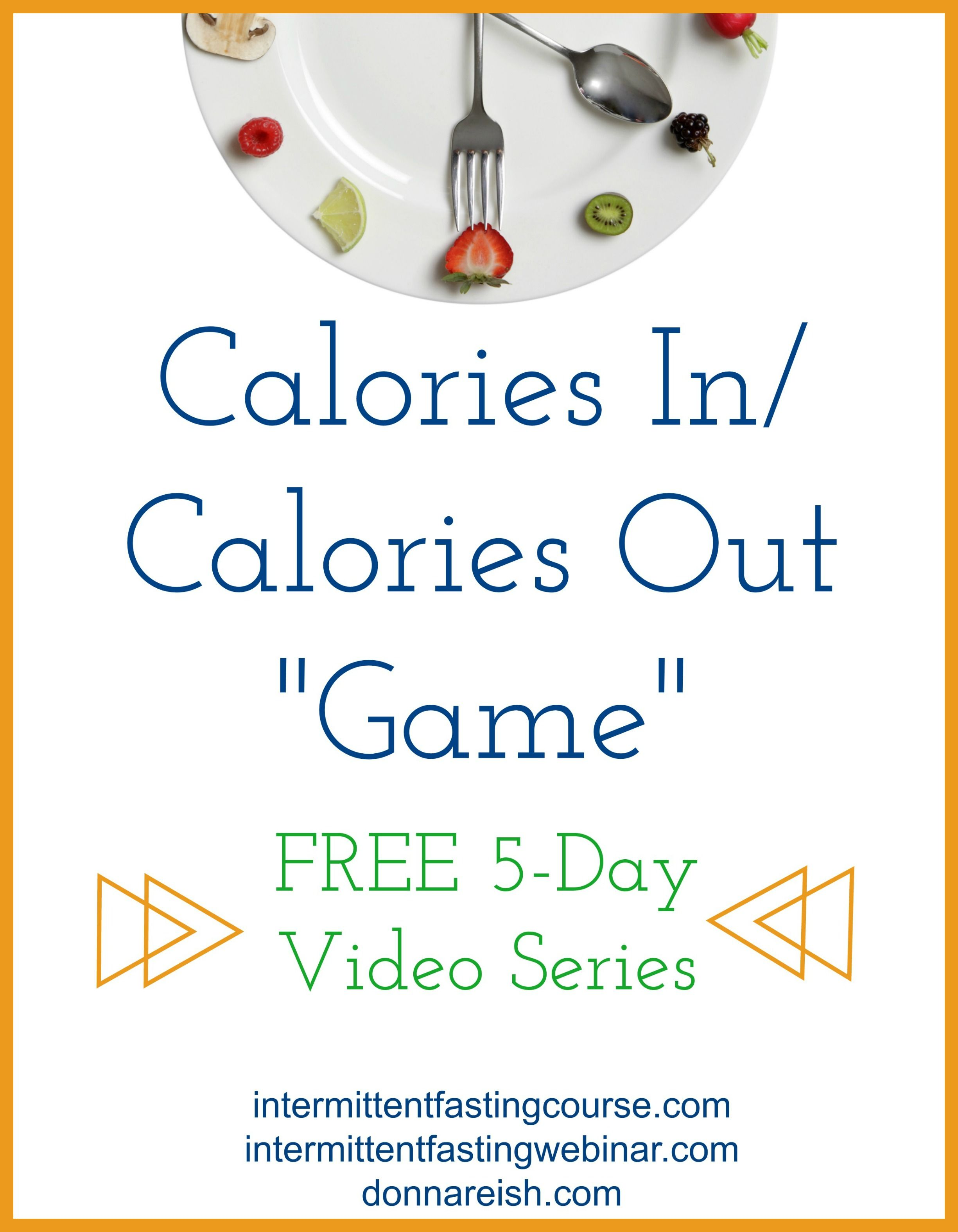 Sign Up Here Calories In Calories Out Game Free 5 Day