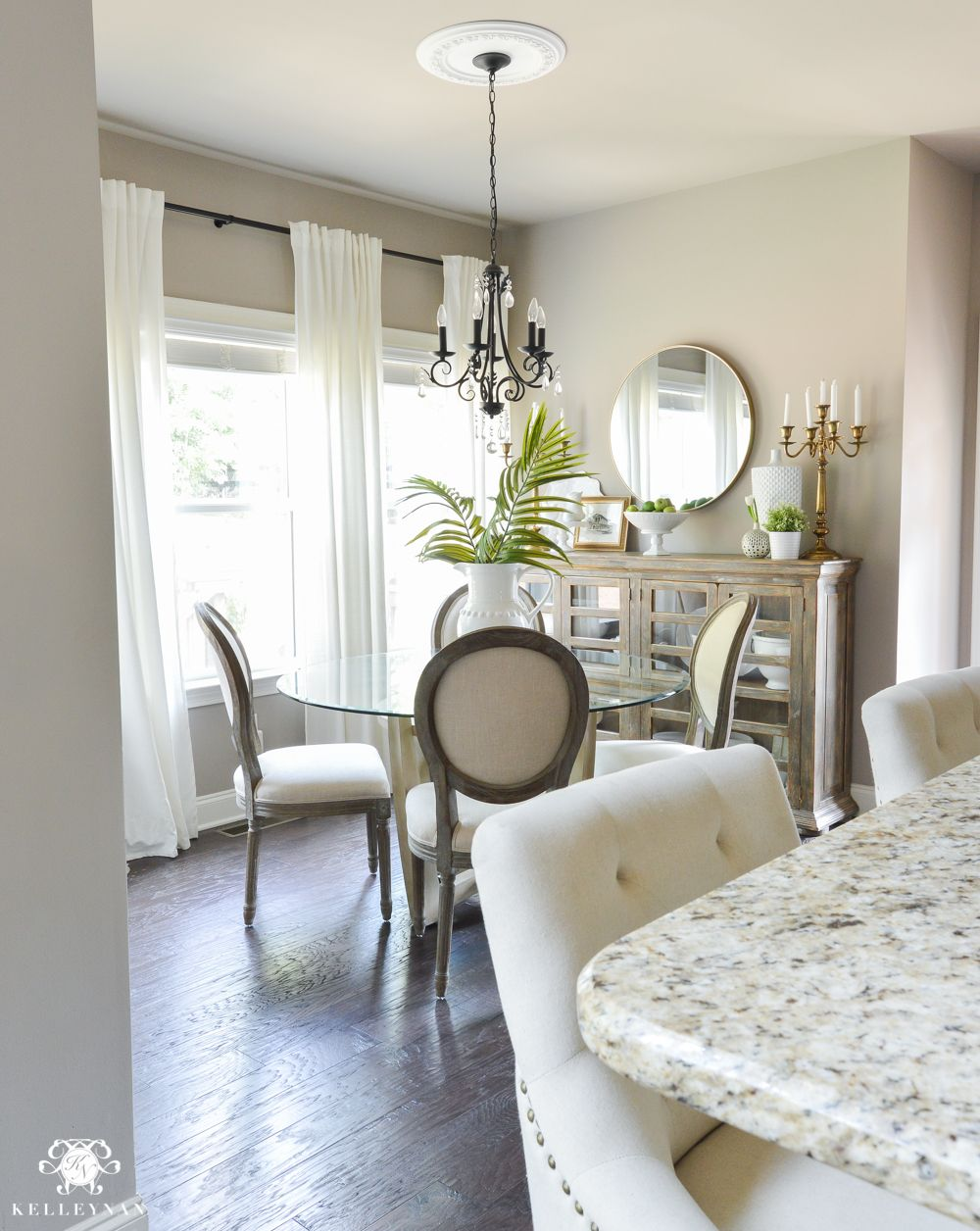 Shades Of Summer Home Tour With Neutrals And Naturals Ikea Dining RoomHomesenseChair
