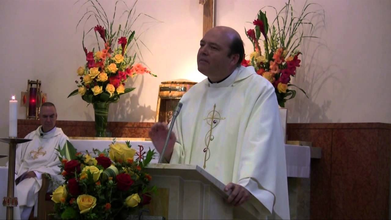 http://bit.ly/1xsQybK | #Vocation | VIDEO -- Homily at the First Profession of the Daughters of St. Paul - Fr Mike Harrington - YouTube