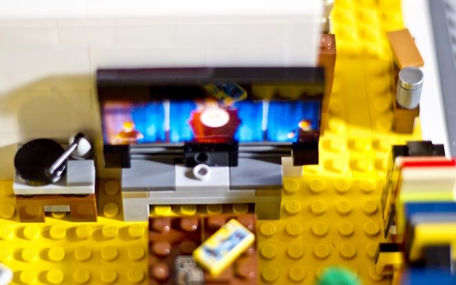 Emmet S Apartment From The Lego Movie
