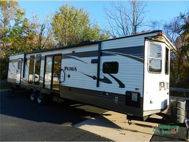 New 2017 Palomino Puma Destination 37 Pfl Destination Trailer At