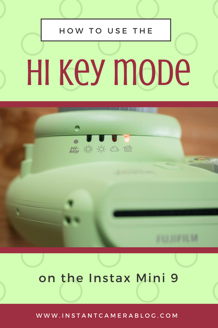 Learn how to use the HI KEY mode (high key) on the Fujifilm
