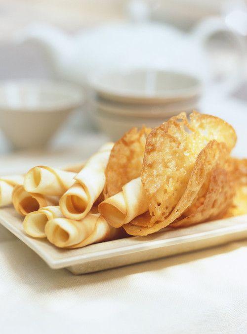 Biscuits dentelles au gingembre Recettes | Ricardo