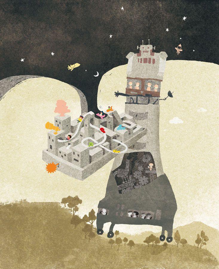 https://flic.kr/p/wtfzNw   小典藏兒童雜誌封面 / 2015 / 8   封面主題:超時空夏令營