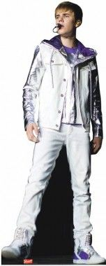 Advanced Graphics Justin Bieber Cardboard Standup 1021 Justin