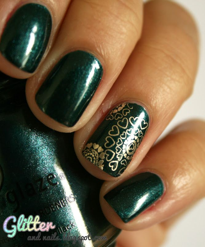 Glitter and Nails: China Glaze Emerald Fitzgerald | Beauty ...