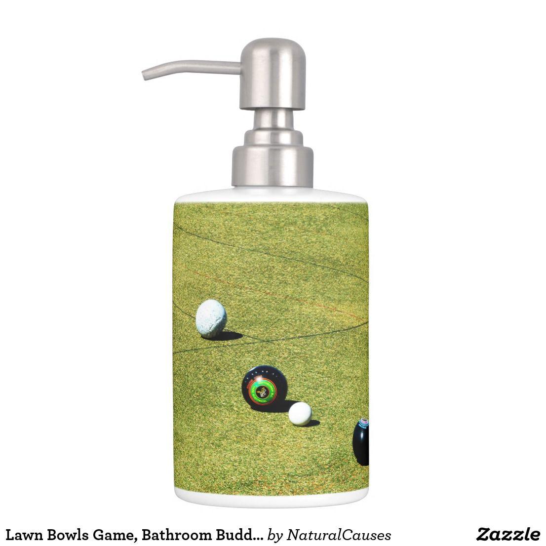 Lawn Bowls Game, Bathroom Buddies Set  Zazzle.com.au  Bathroom