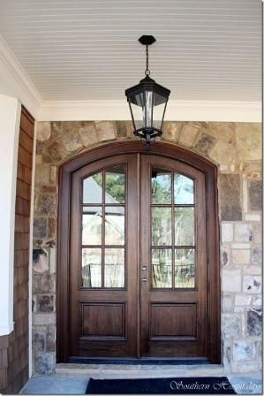 Gorgeous Wood Double Doors By Southern Hospitality Kendra