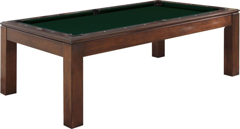 albany 7 foot dining pool table  antique brown  pool