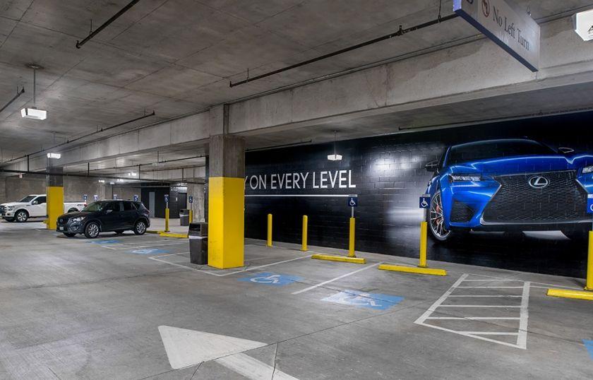 Ltg Americanairlinescenter Parking Dallastx 110916 001 Jpg American Airlines Center Case Study Parking Garage