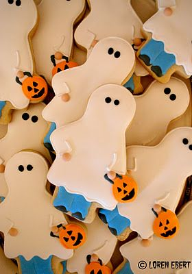 Trick or Treaters Cookies.