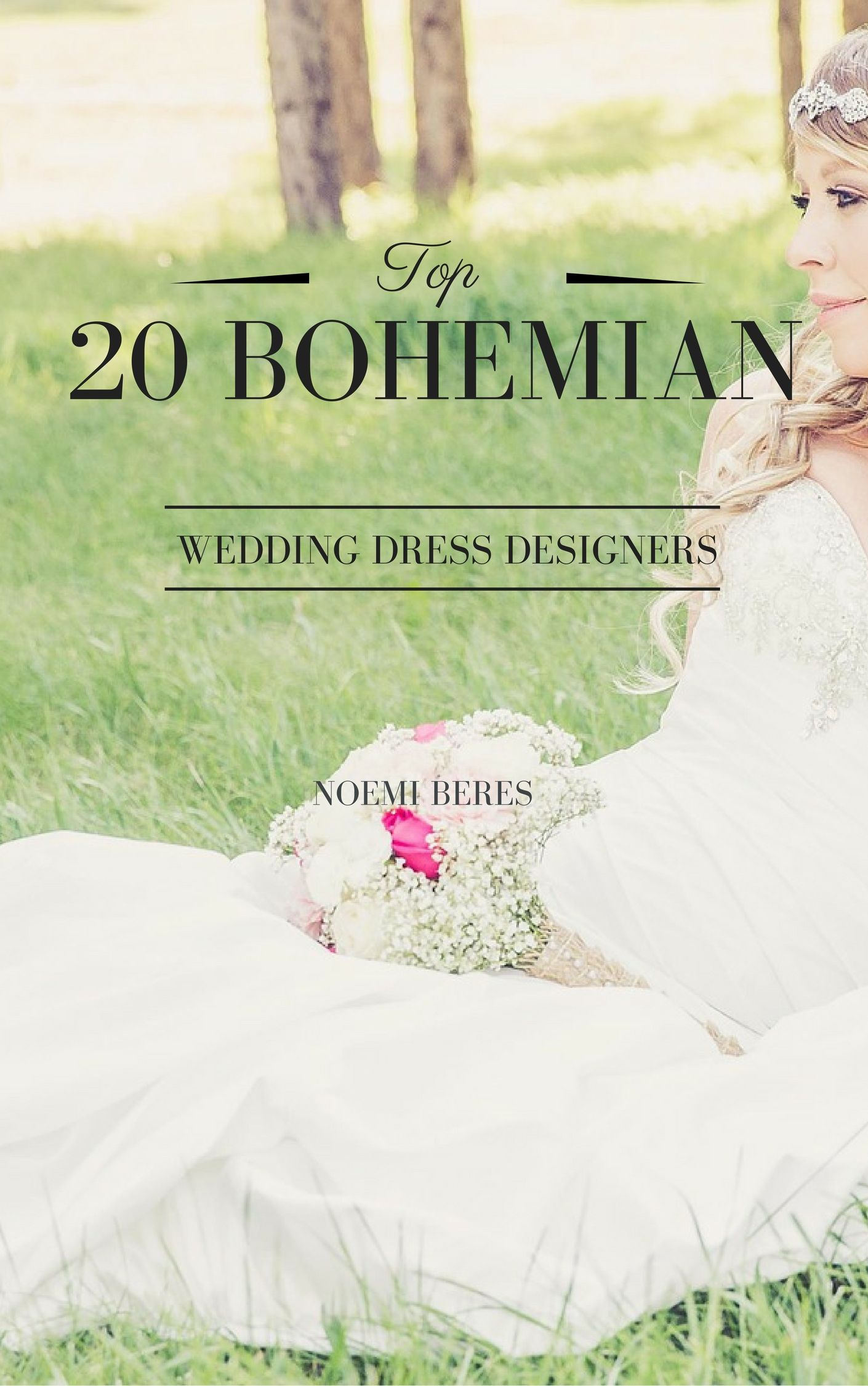 Free wedding dress catalogs  The top  bohemian wedding dress designers  Download your free