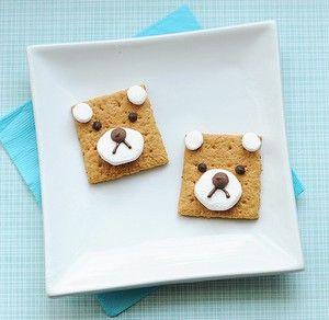 Teddy Bear Picnic Ideas   Teddy Bear S'mores