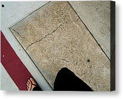 Exercise Walking Motion Canvas Print by Sharon French