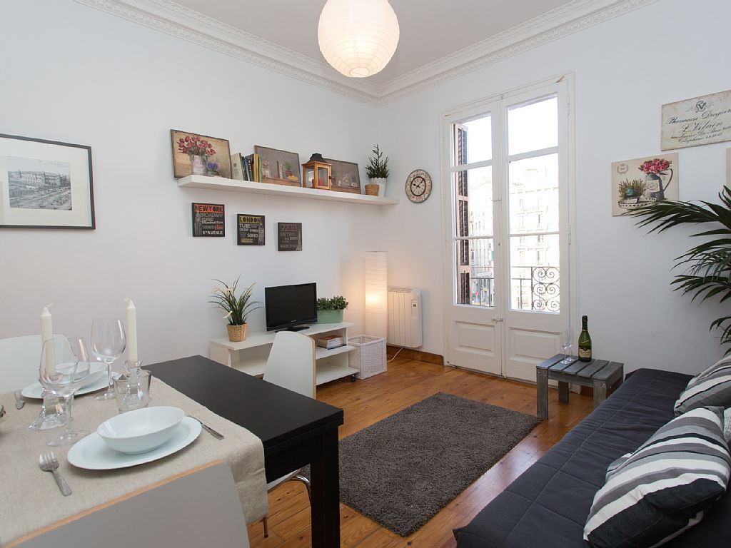 Elegant Appartement In El Raval, Barcelona (stad)