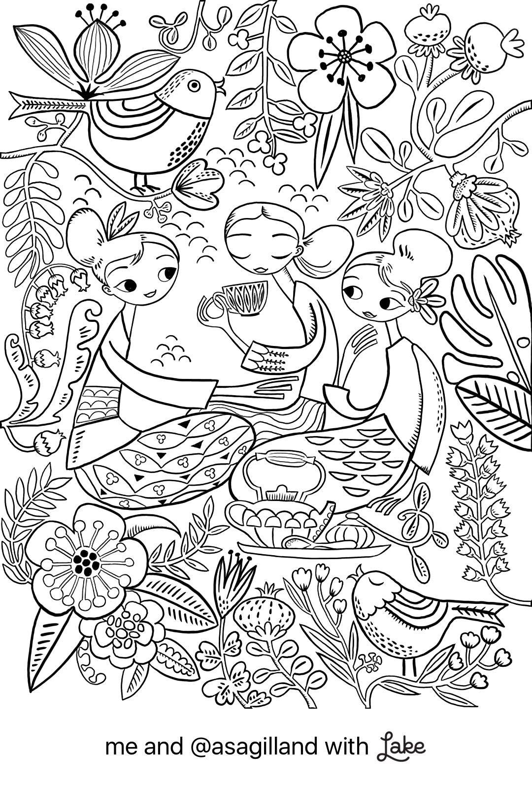 Coloring Page From Lake Coloring App Coloring Pages Coloring