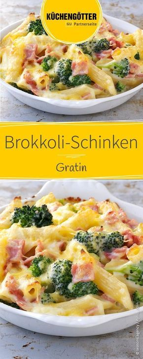 Photo of Brokkoli-Schinken-Gratin