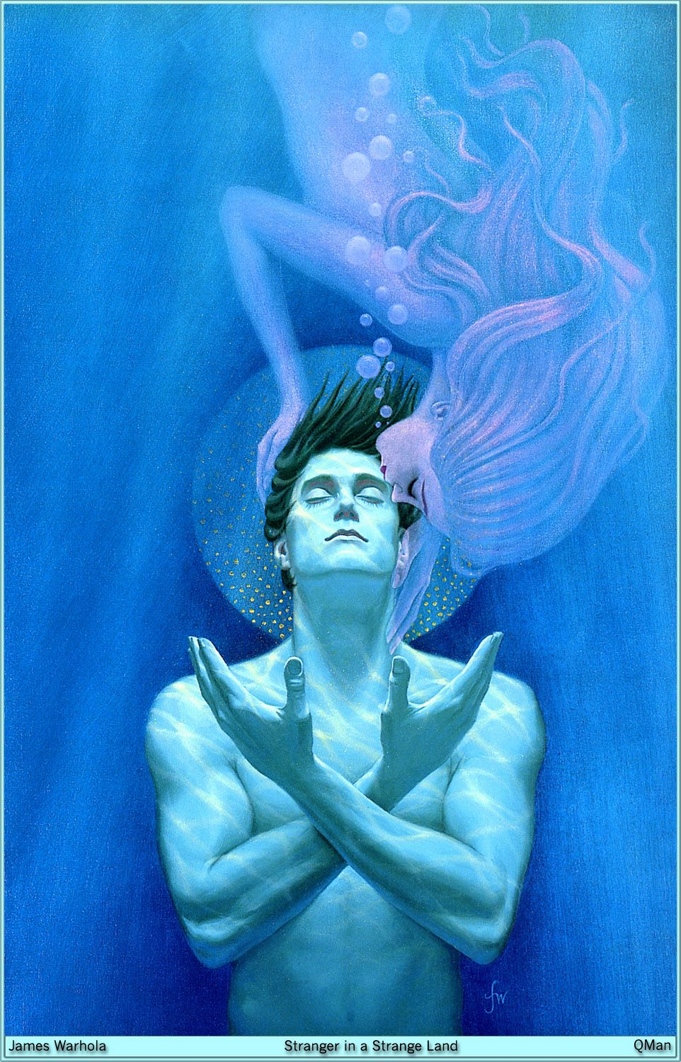 Stranger In A Strange Land By Robert Heinlein Worth Reading Again And Again Mermaid Art Art Mermaids And Mermen