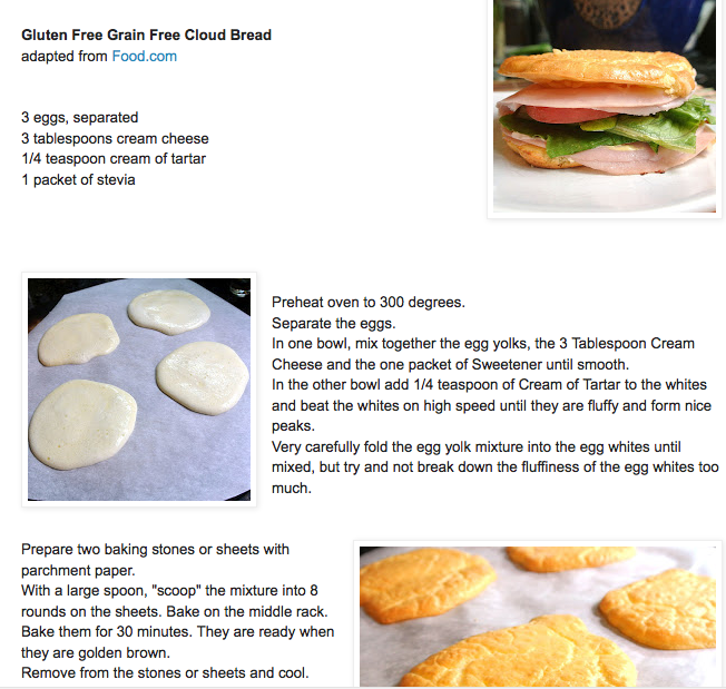 gluten free keto cloud bread | Omni phase 3 recipes | Pinterest | Cloud bread, Keto and Gluten free