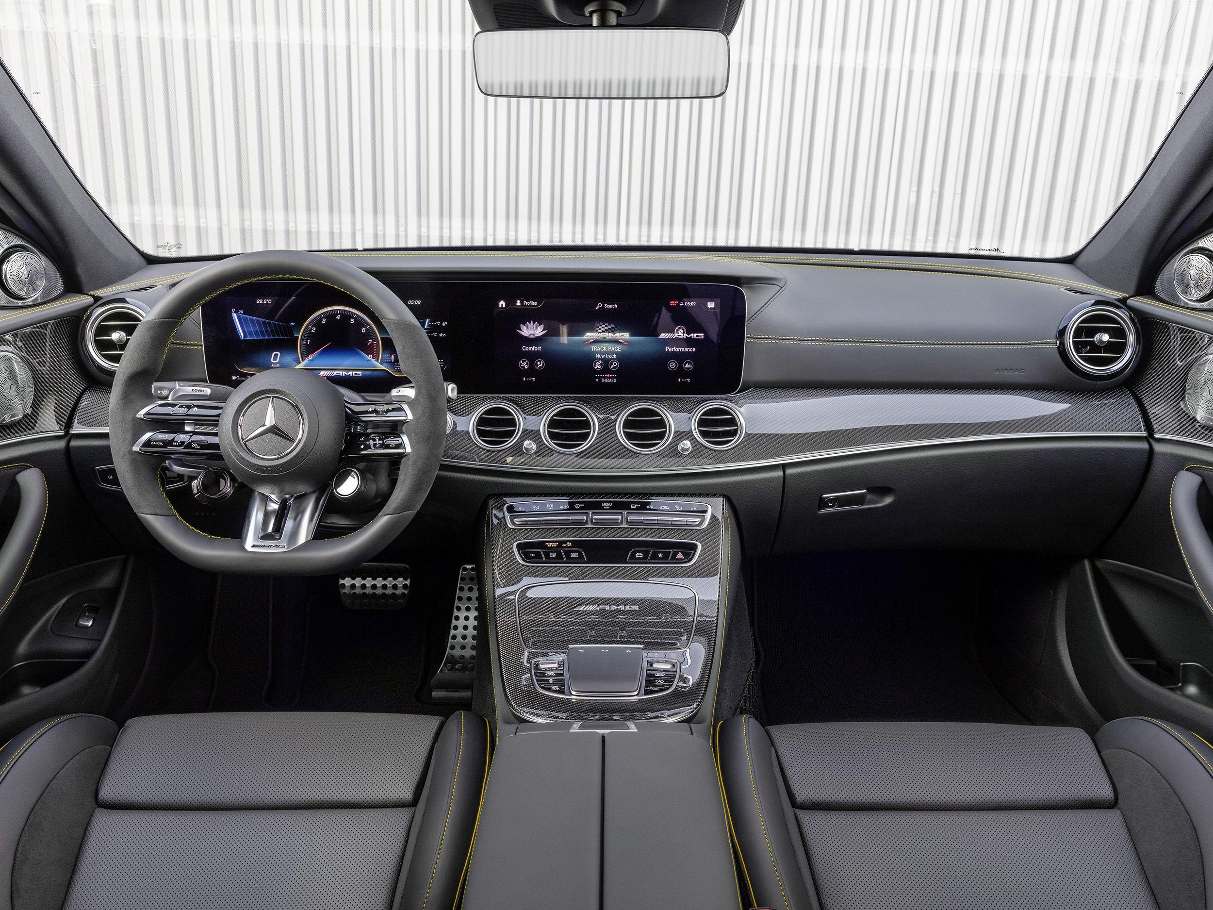 2021 Mercedes Amg E 63 S Interior Wagon Sedan In 2020 Mercedes Amg Mercedes Benz Amg Mercedes