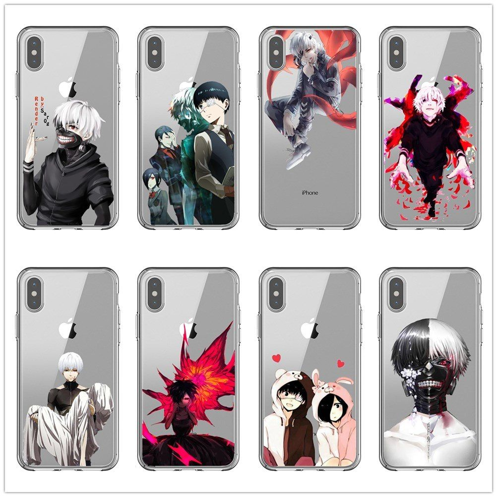 Pin On Japanese Anime Tokyo Ghoul Tpu Soft Cover Case For Apple