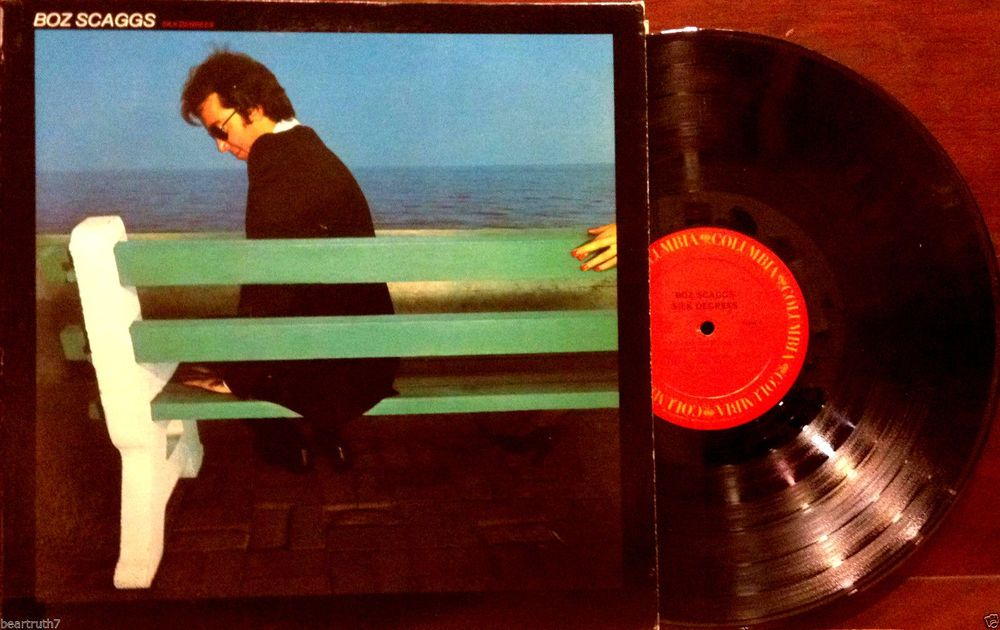 "Boz Scaggs Silk Degrees 12"" LP 1976 Columbia PC 33920 Lowdown Lido Shuffle VG+ #1970s"