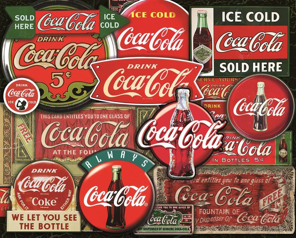 Coca-Cola 1000 Piece Springbok Puzzle History Coke Memorabilia BRAND NEW