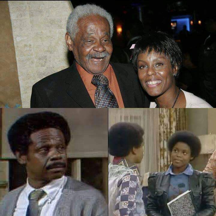"""Raymond Allen as Woodrow Anderson on """"Sandford and Son"""" and his daughter Ta  Ronce Allen as Yvonne on an episode … 