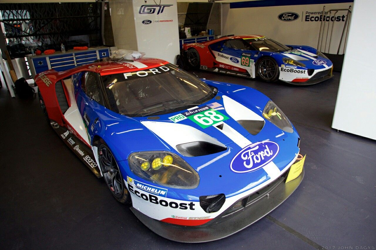 Ford Gt Le Mans 24h 2017 レースカー カー スポーツ