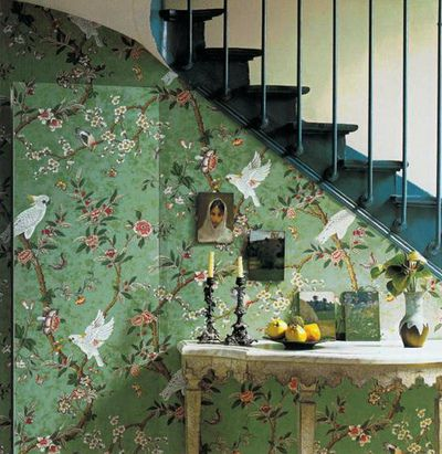 home garden inspirations d co papiers peints r tro. Black Bedroom Furniture Sets. Home Design Ideas
