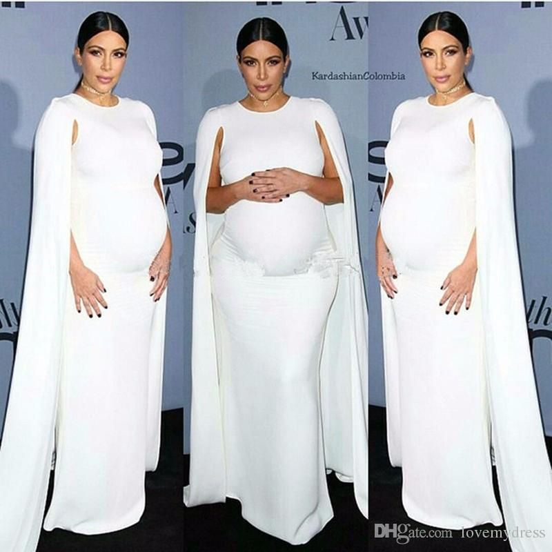 Pregnant Dresses Watteau Formal Elegant Dresses Cheap Price Jewel