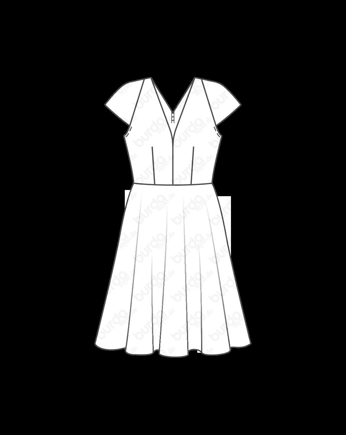 Schnittmuster Kleid 05/2014 #103 | Dress | Pinterest