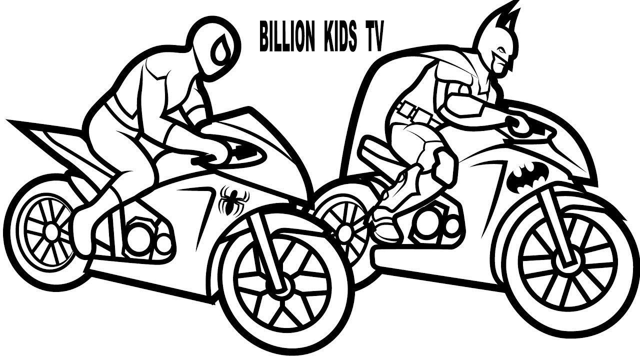 Beautifull Spiderman Car Coloring Pages Printable and