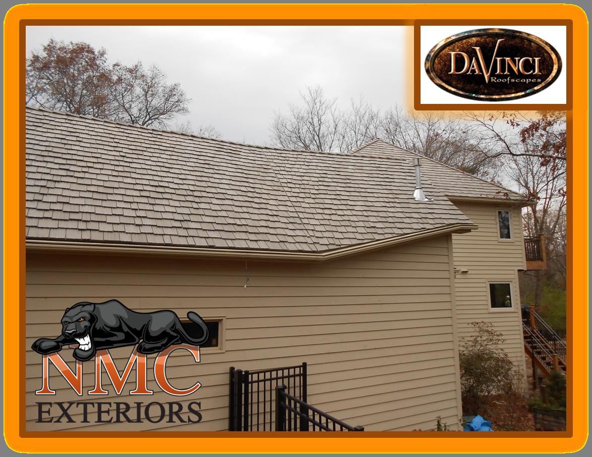 Best Davinci Roofscapes Cedar Removal Cedar Synthetic Slate 640 x 480
