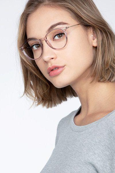 Photo of Amity – Round Purple Frame Glasses For Women | EyeBuyDirect