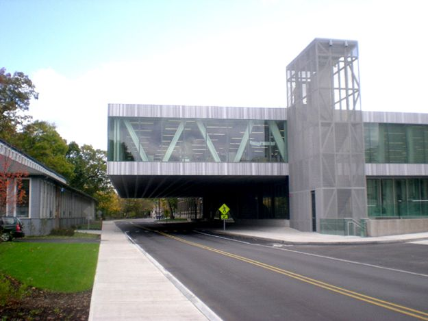 Amazing Milstein Hall By OMA / Cornell University