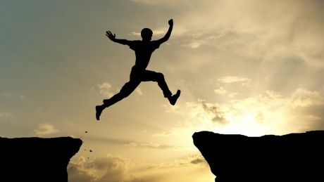 Don't be afraid to take big steps. You can't cross a chasm in two little jumps. -David Lloyd George