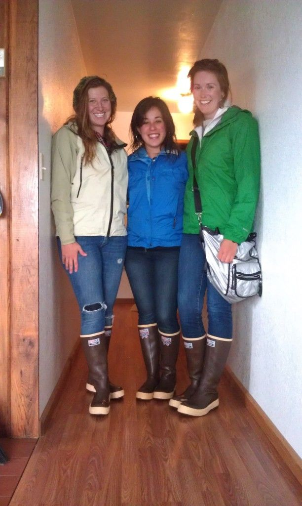 3a8a151b Girls wearing Xtratuf rainboots Rain Wear, Cowgirl Boots, Girls Wear,  Winter Boots,