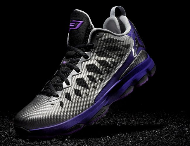 online store 0162e 4d395 Jordan CP3.VI Nitro Metallic Silver Black Court Purple Lazer Purple CP3  Shoes 2013