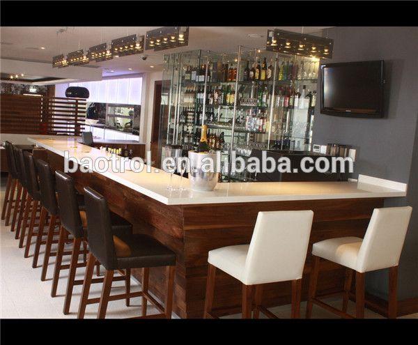 Modern home bar counter design kitchen bar counter designs high top ...