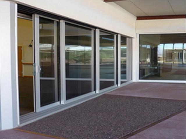 New Hurricane Impact Sliding Glass Doors By Guardian Hurricane Protection Will Provide Secure Access To Outdoor Sliding Glass Door Glass Door Storefront Glass