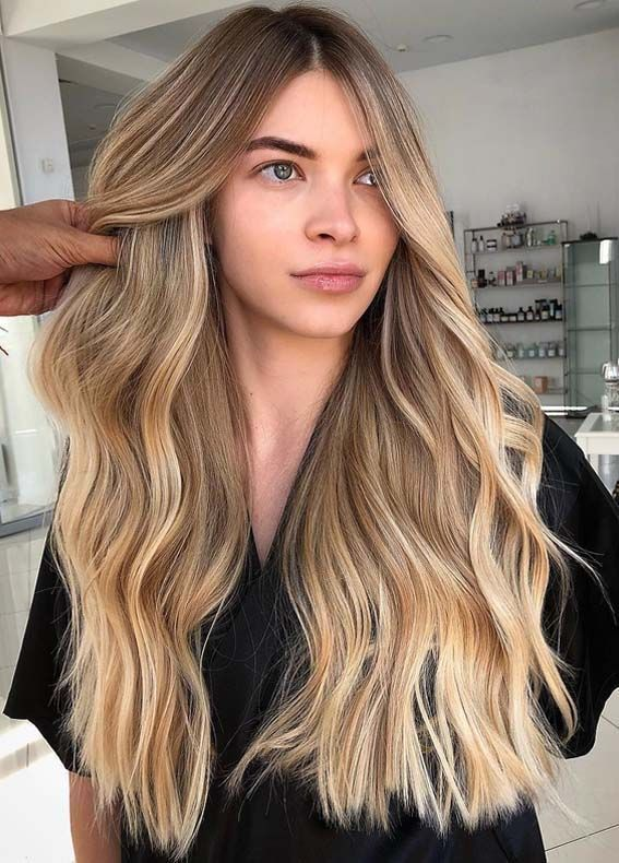 Modern trends and styles of sandy blonde hair colors and hairstyles for women 20…