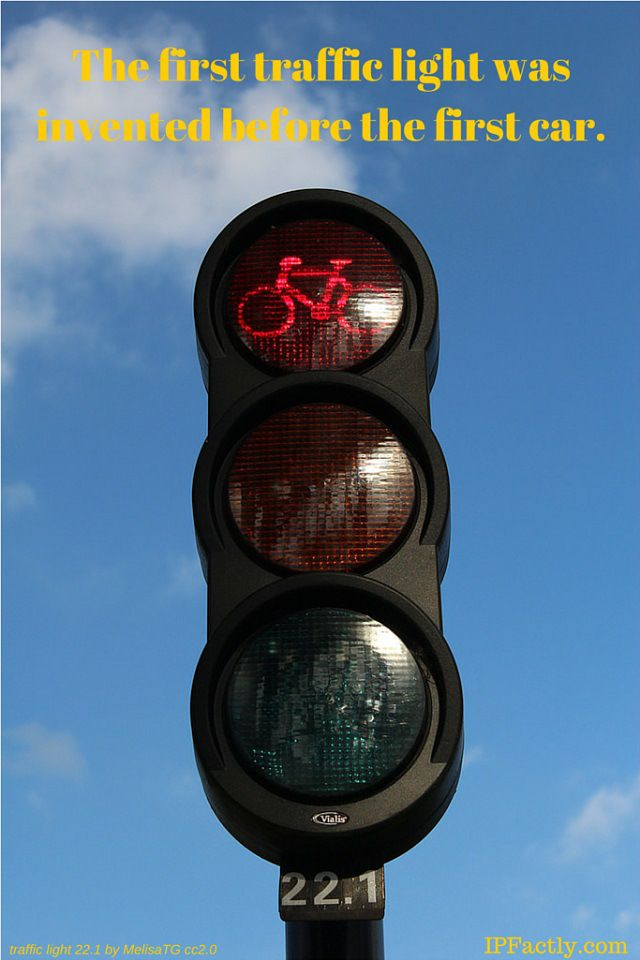 the first traffic light was invented before the first car fun facts for kids