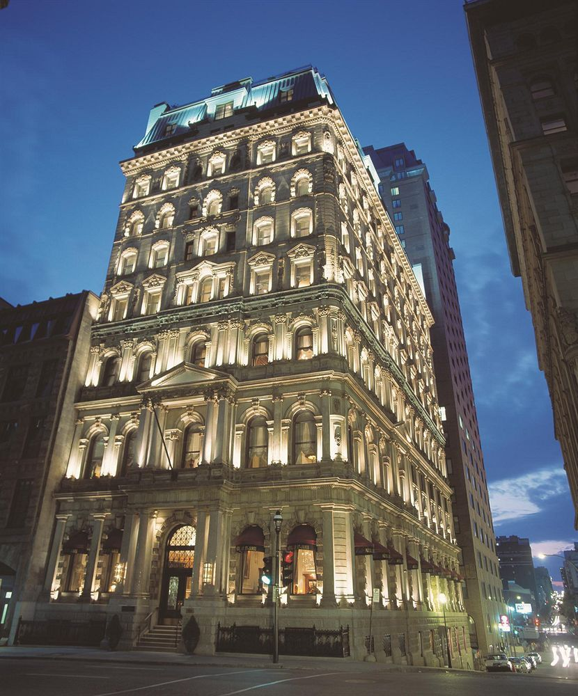 Book The Hotel Le St James Montréal Housed Within A Converted Bank Building This European Style Boutique Is In S Historic District