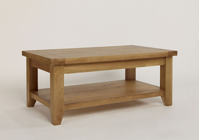 Chiltern Grand Oak Rectangular Coffee Table Coffee Table Coffee Table With Shelf Contemporary Side Tables [ 1059 x 1500 Pixel ]
